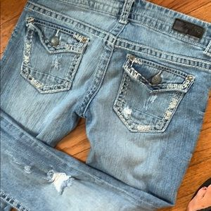 Day trip Leo bootcut jeans